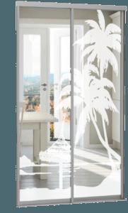 двери купе пескоструйный рисунок