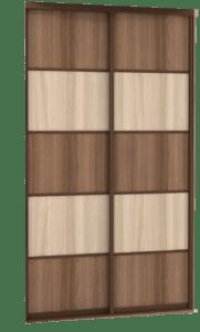 комбинированные двери купе